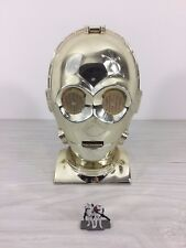 1994 Star Wars C-3PO head mid century steampunk deco modernist industrial design