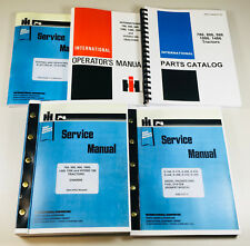 INTERNATIONAL 786 TRACTOR SERVICE PARTS OPERATORS MANUAL D-358 ENGINE CHASSIS OH