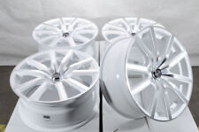 """18"""" Wheels Fit Accord Civic Is250 Camry Lancer Cx-3 Cx-5 Soul White Rims 5x114.3"""