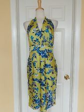 EVAN PICONE floral ruffle dress size 10