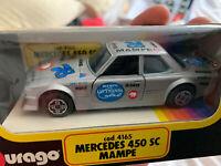 Burago Rare Mercedes 450SC MAMPE AMG Race Car Model 4165 New & Boxed