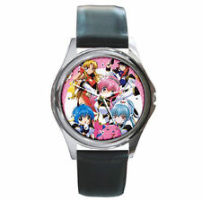 anime Galaxy Angel stunning leather wrist watch