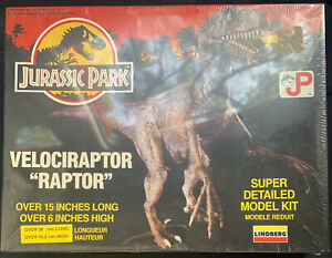 Jurassic Park Velociraptor 'Raptor' Lindberg Model Kit Sealed