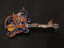 Hard Rock Cafe Pin Halloween 1997 Taipei Rare Old Back Pinusa Collectible Hrc