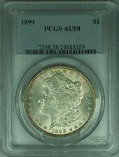 1899 Morgan Silver Dollar S$1 PCGS AU-58 (30)