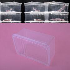 Klar Box Reptilien Fütterung Brutbox Insekten Kasten Käfig Amphibie Eidechse
