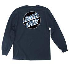 Santa Cruz Other Dot Long Sleeve Skateboard Shirt Harbor Blue Large