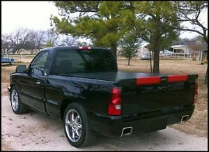 """FOR GMC SIERRA Tailgate Custom """"RST"""" Style Rear Spoiler Wing 1999-2006 NO DRILL"""