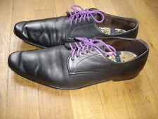 Paul Smith chaussures cuir noir taille 40 made in Italy  Rfe : 04