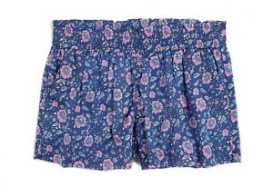 J.Crew - Womens S - NWT - Blue/Pink Liberty Floral Print Pull-On Shorts