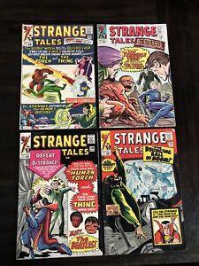 STRANGE TALES #128-131 LOT OF 4 MARVEL COMICS VG