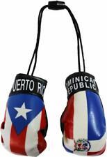 Puerto Rico and Dominican Republic Mini Boxing Gloves