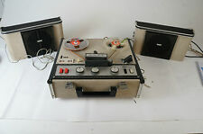 Sony TC-200 Vintage Röhren Tonbandgerät Tapedeckgecheckt mit 2 Lautsprecher Tube