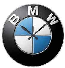 IDEA REGALO OROLOGIO DA PARETE BMW LOGO STAMPA ALTA DEFINIZIONE - ESCLUSIVO