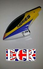 MJX T38 T638 RC HELICOPTER SPARES PARTS, YELLOW & BLUE CANOPY BODY