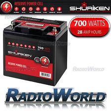 Shuriken BT28 AGM High Performance Car Audio Battery 12V 700w 28AH Power Cell