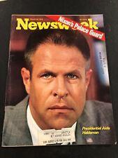 Newsweek Newsweek Magazine March 19, 1973 Nixon's Palace Guard Presidential Aid