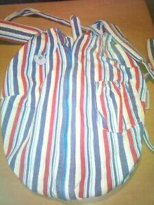 Glückskäfer - Babytragesack - jeans-bund