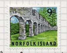 Norfolk Island 1964 Early Issue Fine Mint Hinged 9d. 096327