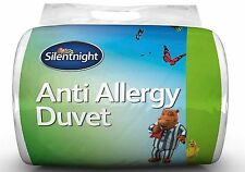 Silentnight Anti Allergy Hollowfibre Duvet - 10.5 Tog - Single - Quilt Bedding