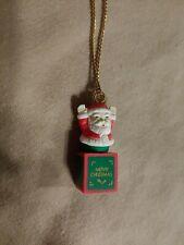 "CHRISTMAS ~ Holidays ~ Santa Claus~ Novelty Necklace ~ ""Merry Christmas"" *"