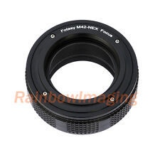 M42 Lens to Sony NEX-5T NEX-5R NEX-6 a6300 a7 Adapter/ Macro Focusing Helicoid