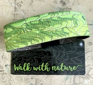ZOX Strap WALK WITH NATURE - White Star - Reversible Wristband