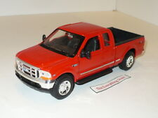 Welly Ford F-350 Super Duty Pick Up Truck Bright Red 22081 1:24 Scale Free Ship