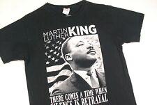Martin Luther King Silence Betrayal T Shirt Black Power Mens M MLK Jr