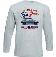 VINTAGE JAPANESE CAR HONDA CIVIC WAGON - NEW COTTON T-SHIRT