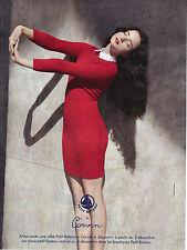 PUBLICITE   2012  PETIT BATEAU  ROBE portée par ANNA