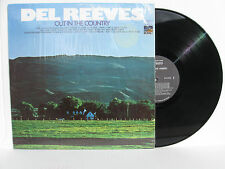 DEL REEVES Out In The Country vinyl LP Sunset SUS-5321 country MINT!