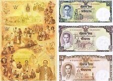 Thailand 16 Baht 2007 Unc pn 117