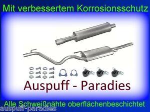 Abgasanlage Auspuff für VW Golf III Variant / Kombi 1.8 Typ 1 H5 ab 07/1995 +Kit