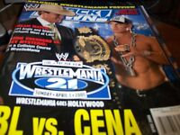 WWE Smackdown Magazine April 2005 JBL vs. John Cena