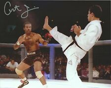 """Art """"One Glove"""" Jimmerson Signed UFC 1 8x10 Photo Picture w/ Royce Gracie 1993"""