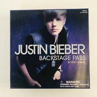 Justin Bieber Backstage Pass Board Game