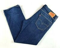"""Levis 505 Blue Denim Men's Jeans (Tag Sz 38/32) Actual Size W40"""" L32"""""""