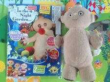 In The Night Garden Talking Makka Pakka Plush Toy & Activities Comic - Sounds!!