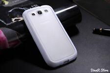 TPU Silikon HandyHülle für Samsung Galaxy S3 Tasche Hülle - Weiss (33WE)