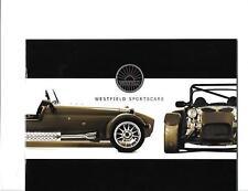 WESTFIELD SPORTSCARS LTD. FULL RANGE KIT CAR SALES BROCHURE FOR THE 2000's