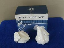 Fitz and Floyd Nib Bristol Salt and Pepper Shakers Vegetable Figurines
