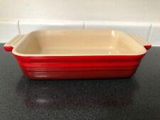"""Le Creuset Red 7""""x 5"""" Rectangular Baking Dish lecreuset"""