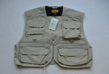 Woolrich Fishing Hunting Vest L Cotton Nylon Blend Stone Color NWT