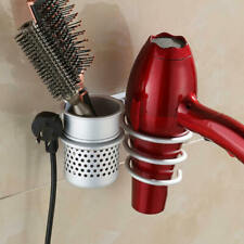 Blow Hair Dryer Holder Wall Mount Hanging Organizer Rack Bathroom Stand New QXW
