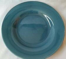 2 HOME AMERICAN SIMPLICITY GREEN DINNER PLATES TEAL