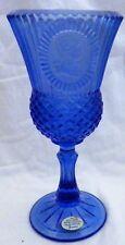 Avon Fostoria Blue The Washington Goblet Candle Holder