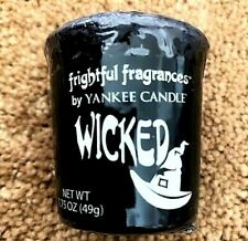 """Box Lot of 18 Yankee Candle Frightful """"WICKED"""" Halloween Sampler Votives ~ RARE"""