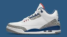 Nike Air Jordan 3 III Retro True Blue OG SZ 8 White Cement True Blue 854262-106