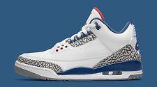 Nike Air Jordan 3 III Retro True Blue OG SZ 9 White Cement True Blue 854262-106